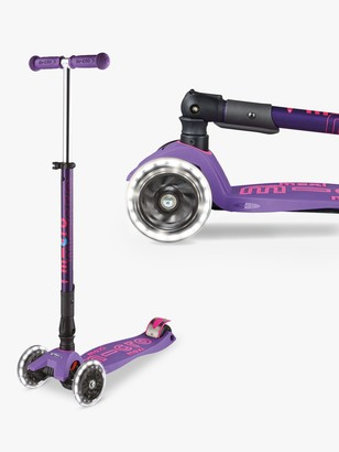 Maxi Micro Deluxe Foldable LED Scooter, 5-12 years