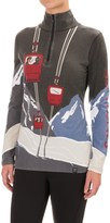 Neve Ski Tignes Merino Wool Shirt - Zip Neck, Long Sleeve (For Women)