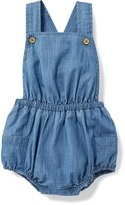 Old Navy Chambray Bubble Romper for Baby
