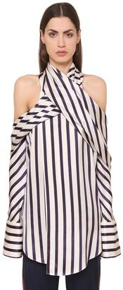 Monse Striped Viscose Shirt