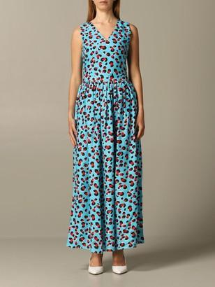 Love Moschino Dress Animal Print Dress