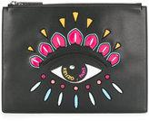 Kenzo Eye clutch - women - Cotton/Nylon - One Size