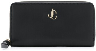Jimmy Choo large JC plaque wallet