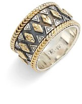 Konstantino 'Hebe' Geo Pattern Band Ring