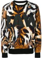 G Star G-Star tiger print sweatshirt