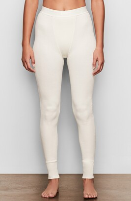 SKIMS Cotton Rib Thermal Leggings
