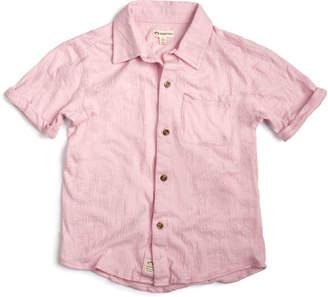 Appaman Short-Sleeve Collared Beach Shirt, Size 2-14