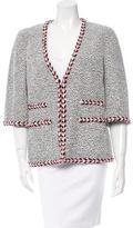 Chanel Bouclé Short Sleeve Jacket