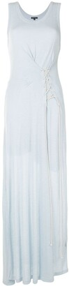 Ann Demeulemeester Jersey Sleeveless Maxi Dress