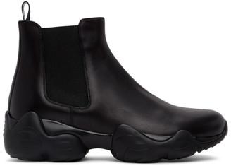 Ralph Lauren Purple Label Black Gradey Boots