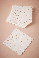 BHLDN Rose Gold Dot Napkins (16)