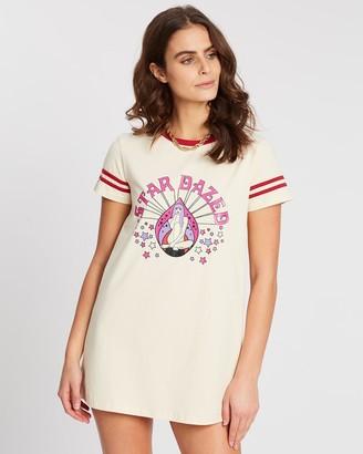 LENNI the label - Women's Mini Dresses - Dazed Tee Dress - Size One Size, XS at The Iconic