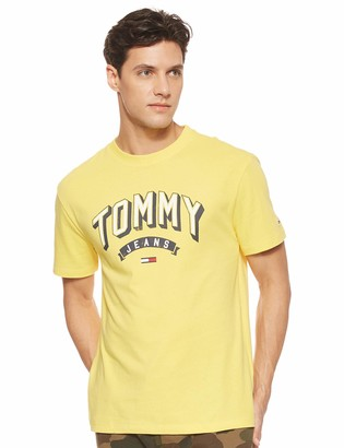 Tommy Jeans Men's TJM Essential 3D Logo Tee Sports Shirt