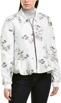 Moncler Long Sleeve Belted Jacket