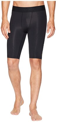 2XU MCS Cross Training Compression Shorts (Black/Gold) Men's Shorts