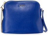 Furla Miky Leather Dome Crossbody Bag, Blue
