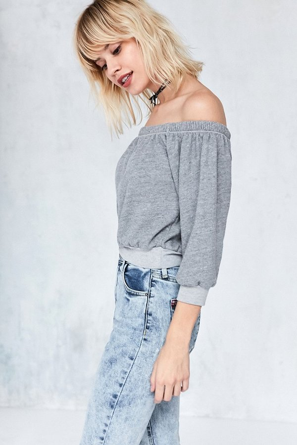 Truly Madly Deeply Heidi Terry Off-The-Shoulder Top