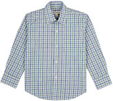 Appaman Plaid Cotton Poplin Shirt