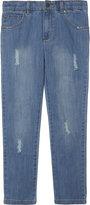 Stella Mccartney Pedro Worn Cotton Jeans 4-14 Years