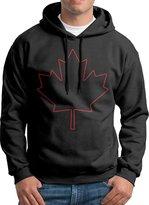 Sarah Men's Canada Canadian Maple Leaf Logo Hoodie XL