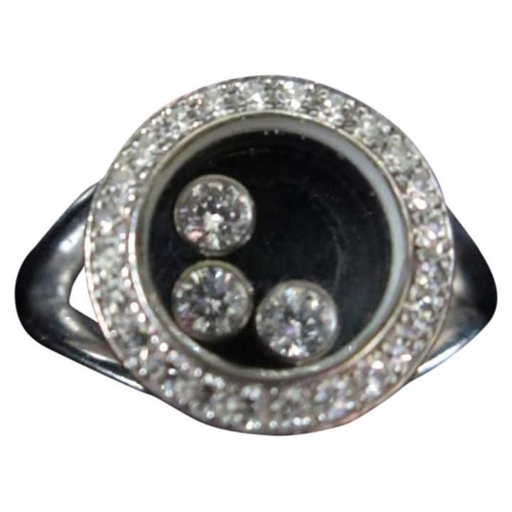 Chopard Happy Diamonds white gold ring