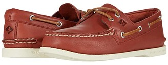 Sperry A/O 2-Eye Whisper (Yellow) Men's Shoes