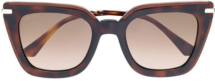 Jimmy Choo Eyewear Ciagras oversized sunglasses