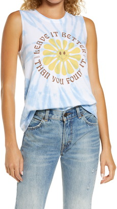 Parks Project Park Project Leave It Better Than You Found Out Tie-Dye Graphic Cotton Tee