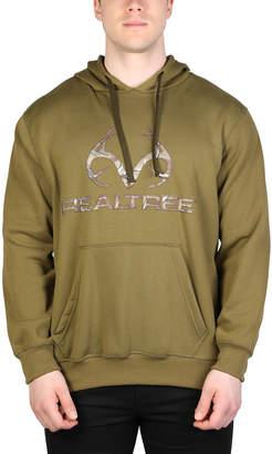 Realtreetm RealtreeTM Men's Sweatshirts and Hoodies Army - Army Green Antler Fleece Hoodie - Men