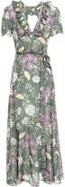 By Ti Mo Bytimo Camelia Floral-print Mousseline Maxi Wrap Dress