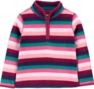 Osh Kosh Toddler Girl OshKosh Bgosh Half-Zip Fleece Pullover Jacket