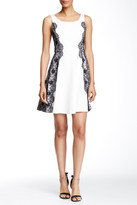 Jessica Simpson Lace Applique Sleeveless Dress