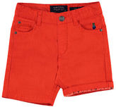 Mayoral Stretch Twill Bermuda Shorts, Size 3-7
