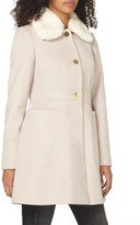 Dorothy Perkins Women's Faux Fur Collar Coat