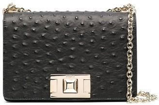 Furla Mimi ostrich leather bag