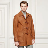 Ralph Lauren Purple Label Douglas Nubuck Toggle Coat