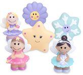 Elegant Baby Fairy Party 6-Piece Bath Squirties