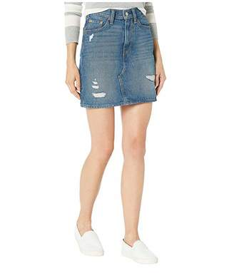 Levi's Womens High-Rise Decon Iconic Skirt