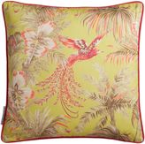 Matthew Williamson Lemon & Pink Bird of Paradise Cushion