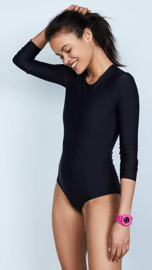 00b943d10a Long Sleeve Swimsuit - ShopStyle