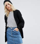 Asos Chunky Cardigan with Volume Sleeves
