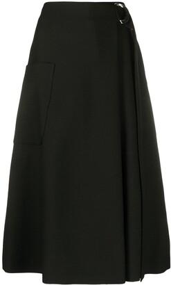 Mulberry Karlie woven skirt