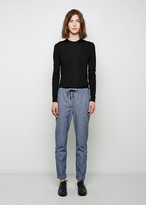Proenza Schouler Chambray Pull-On Pant
