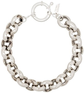 Loren Stewart Sterling Silver Link Bracelet