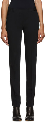 MM6 MAISON MARGIELA Black Elastic Waist Trousers