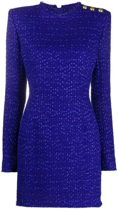 Balmain Boucle Tweed Day Dress