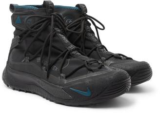 Nike Acg Air Terra Antarktik Gore-Tex Ripstop And Rubber Sneakers