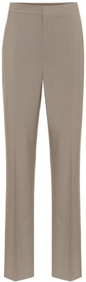 Tibi Sebastian high-rise straight pants