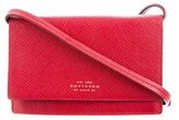 Smythson Mini Leather Crossbody Bag