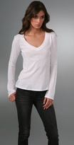 Relaxed Casual V T-Shirt